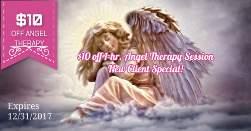 $10 off 1-hr. Angel Therapy Session - New Client Special!